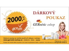 obrázek  Dárkový poukaz na 2000 Kč